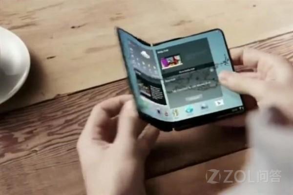 三星Galaxy X会使用可折叠屏幕?